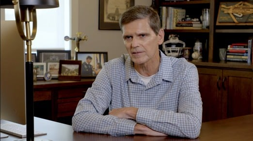 Video frame of General Joseph Votel, U.S. Army (Ret.)